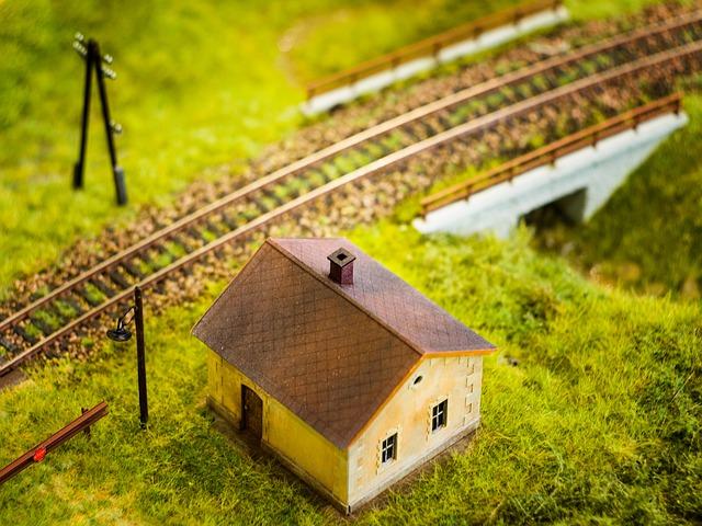 model železnice, vláčky